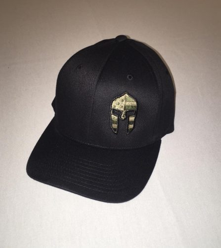 Spartan Hat Black
