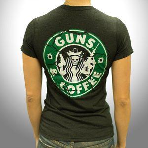Guns and Coffee – Heather – Back