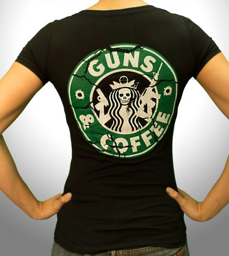 Guns and Coffee - Back