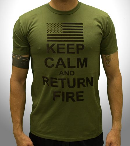 Keep Calm And Return Fire - Front