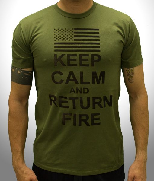 Keep Calm And Return Fire – Front